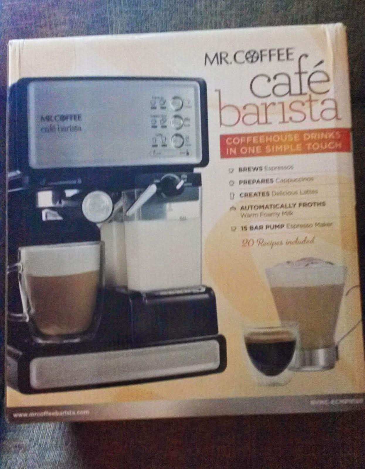 Mr. Coffee Cafe Barista