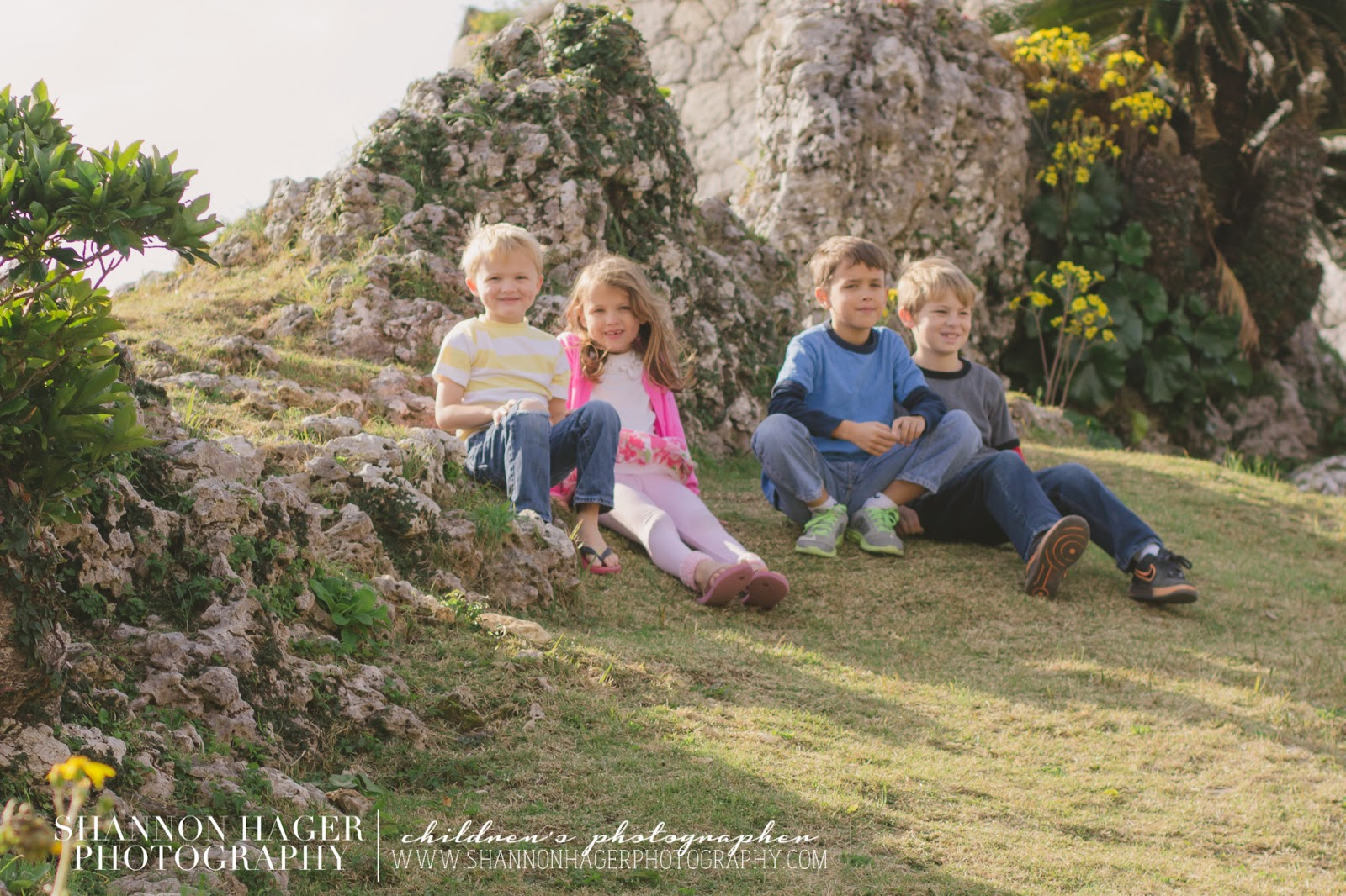 Childrens Photography by Shannon Hager Photography, Portland Photographer, Nakagusuku Castle