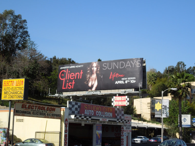 The Client List billboard