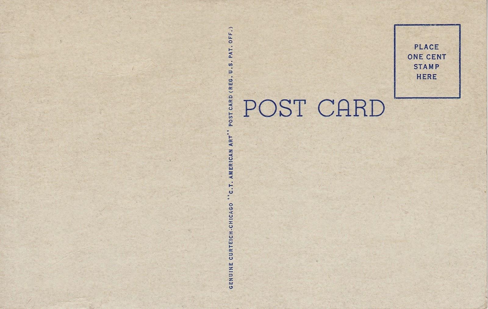 Greeting from Enid, OK Vintage Postcard (Back)