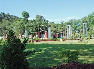 kebun bunga di Surabaya