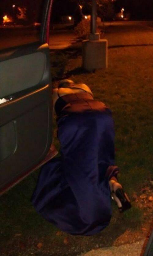 Bêbados e bêbadas depois do Ano Novo