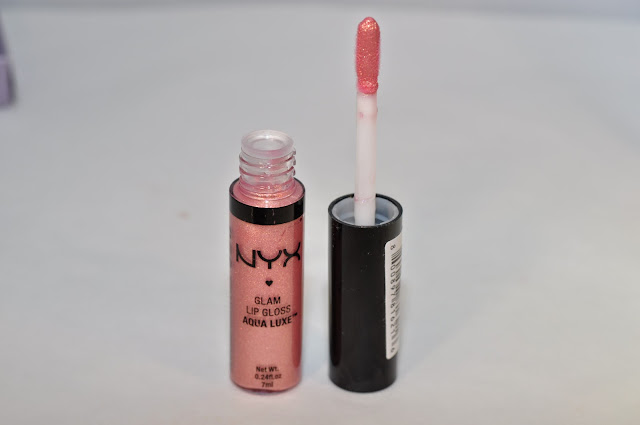 NYX Glam Lip Gloss in Beat Goes On