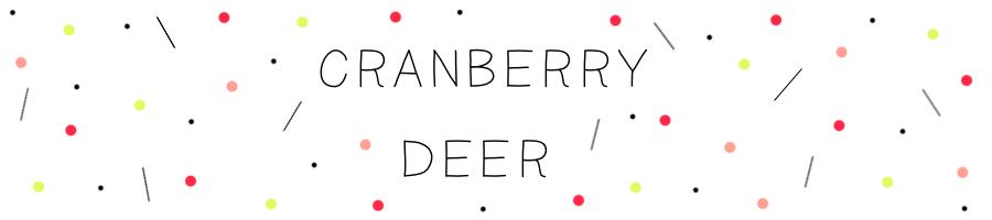 Cranberry Deer