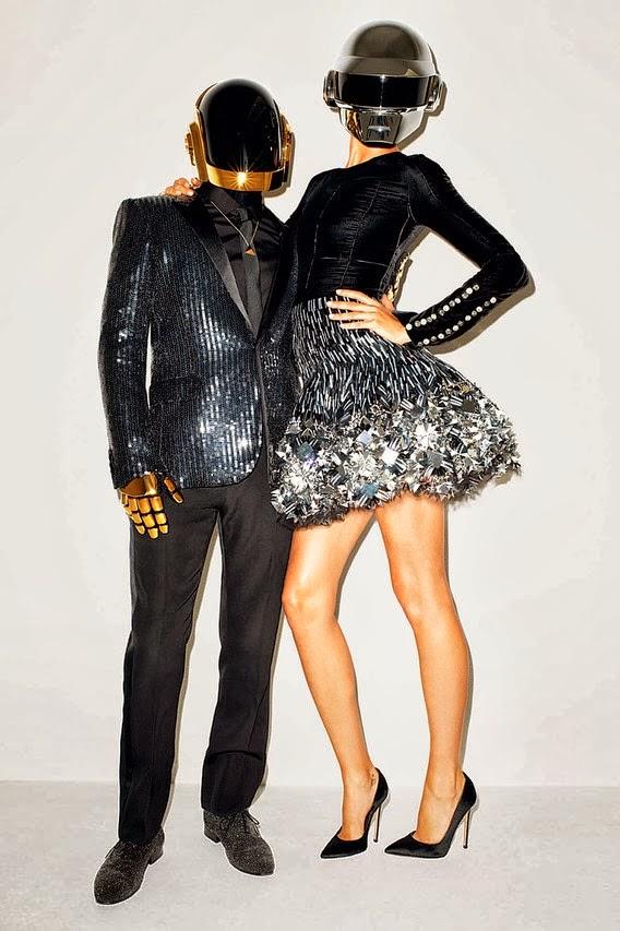 Gisele Bundchen and Daft Punk for WSJ November 2013 by Terry    Gisele Bundchen Terry Richardson