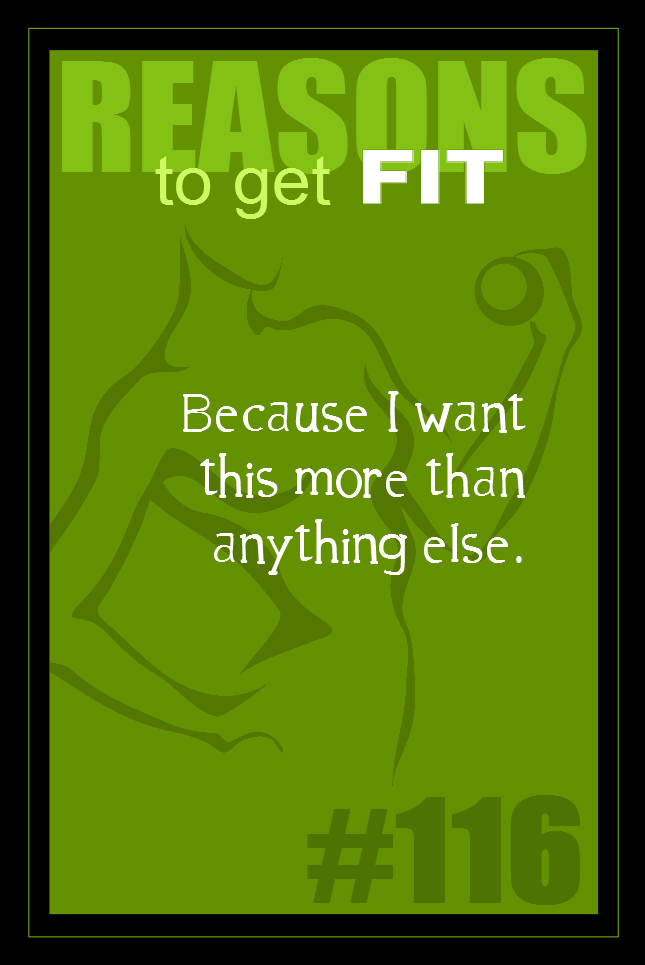 365 Reasons to Get Fit #116