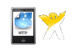 Create a flash mobile website Front