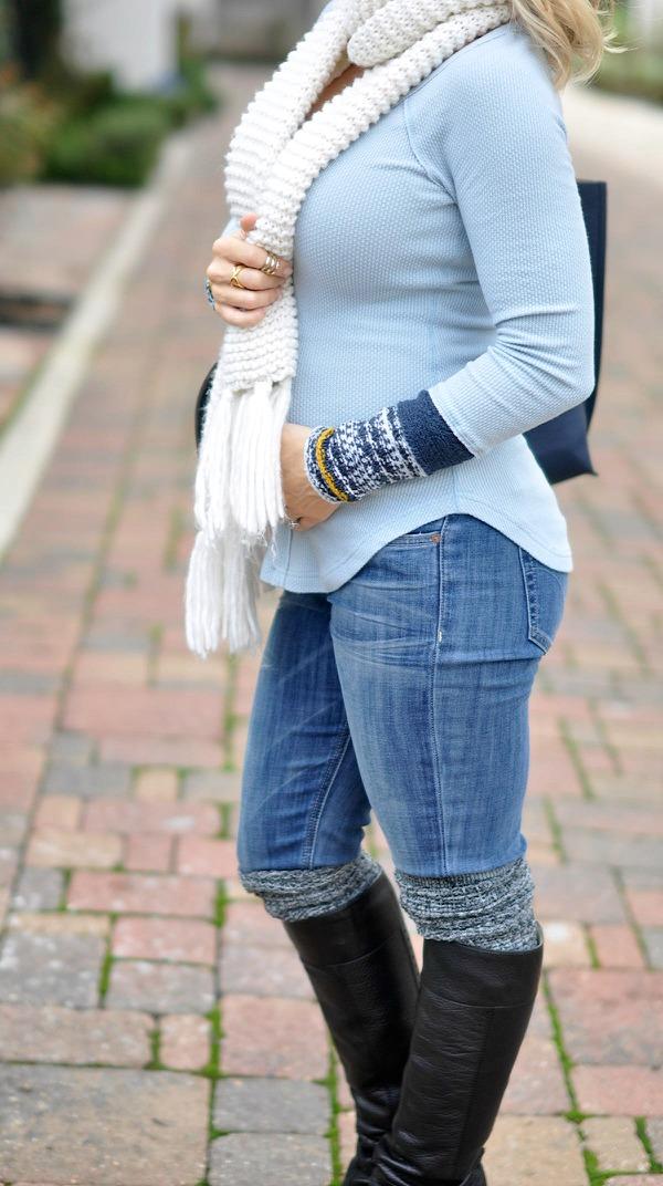 Fall/Winter fashion - Free People tunic - perfect weekend style