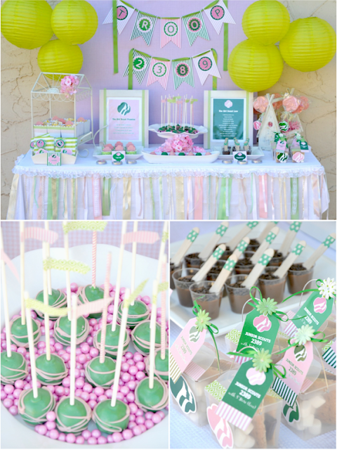 Girl Scouts free printables Bird's Party