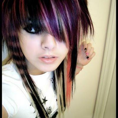 best emo scene hairstyles for teenage girls in summer