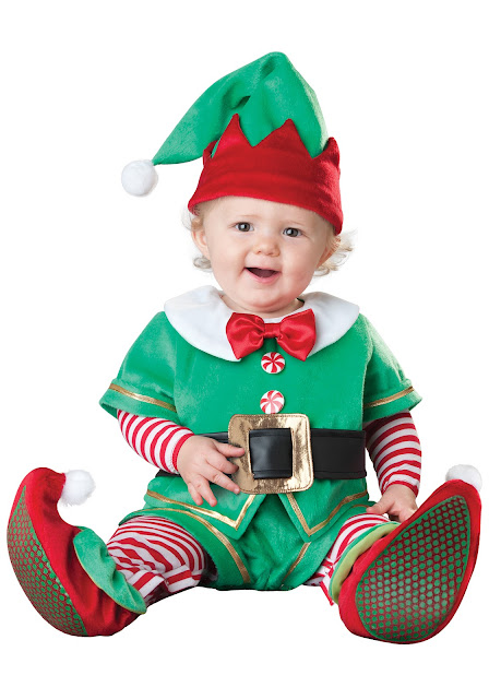 santas lil elf costume
