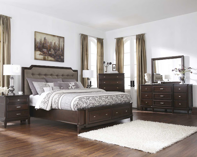 King Bedroom Sets: The Soft Vineyard-6