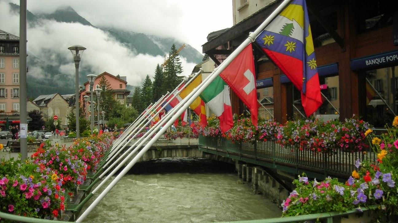 Chamonix-inicio-del-trekking-del-Tour-del-Mont-Blanc