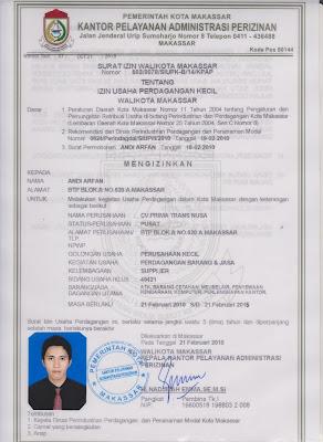 Legalitas Paket Wisata Makassar