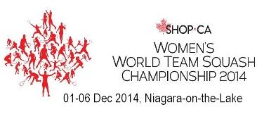 Skuasy Berpasukan Wanita Dunia 2014