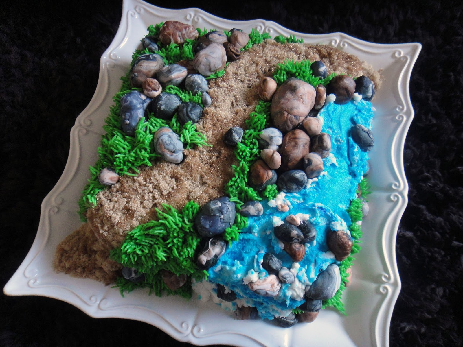 edible rocks for cake