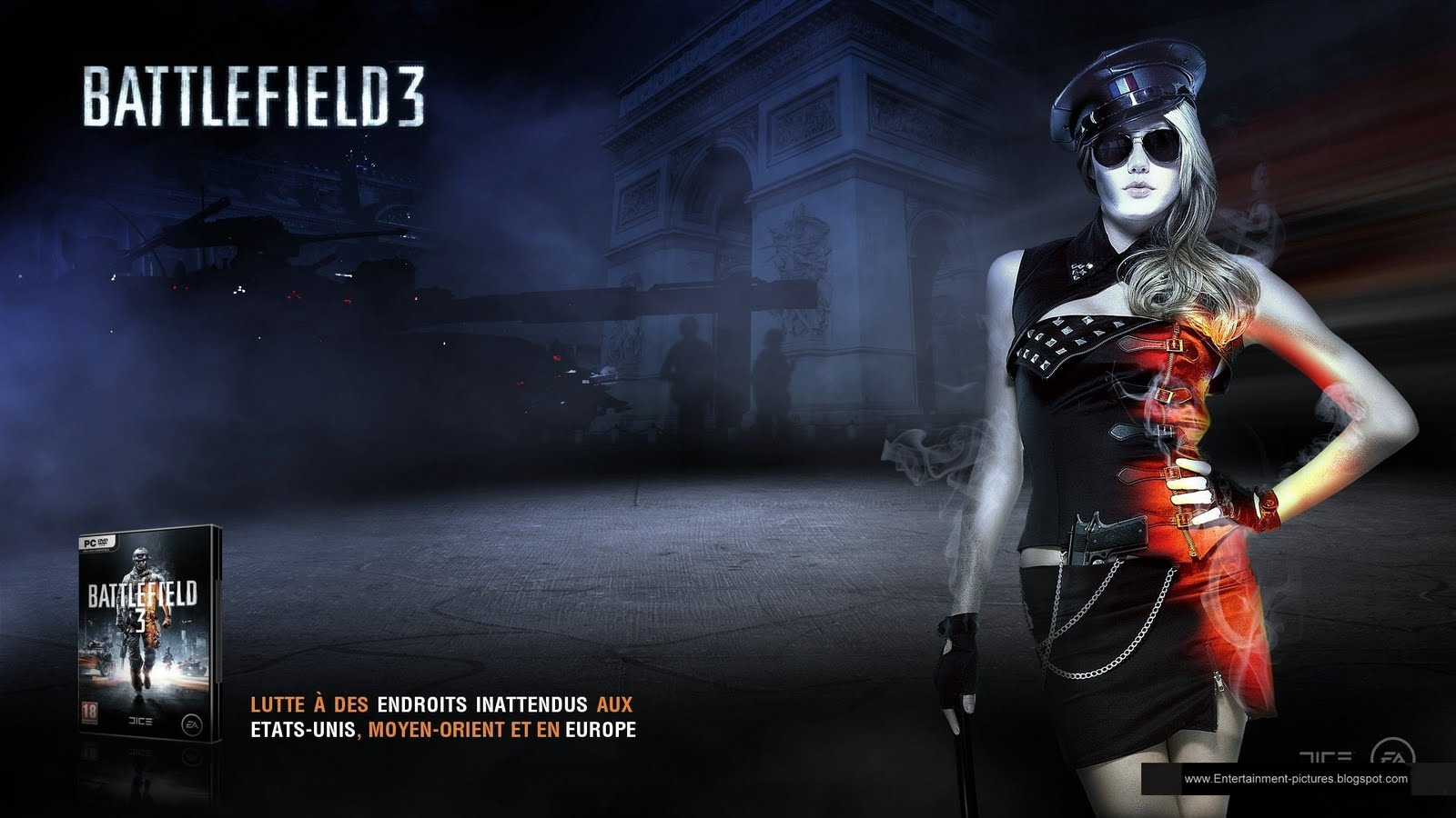 battlefield 3 french commander wallpapers - Battlefield 3 French Commander Wallpapers HD Wallpapers