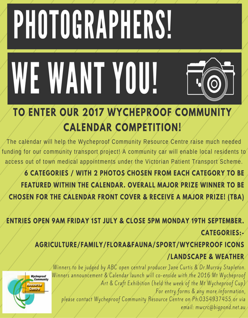 Photographic competition