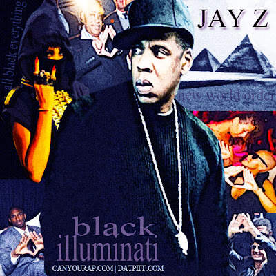 It's all about the Black Illuminati