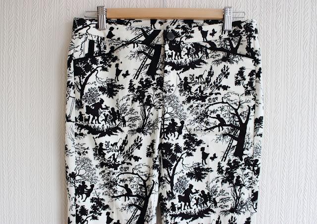 zara, print trousers, print, trousers