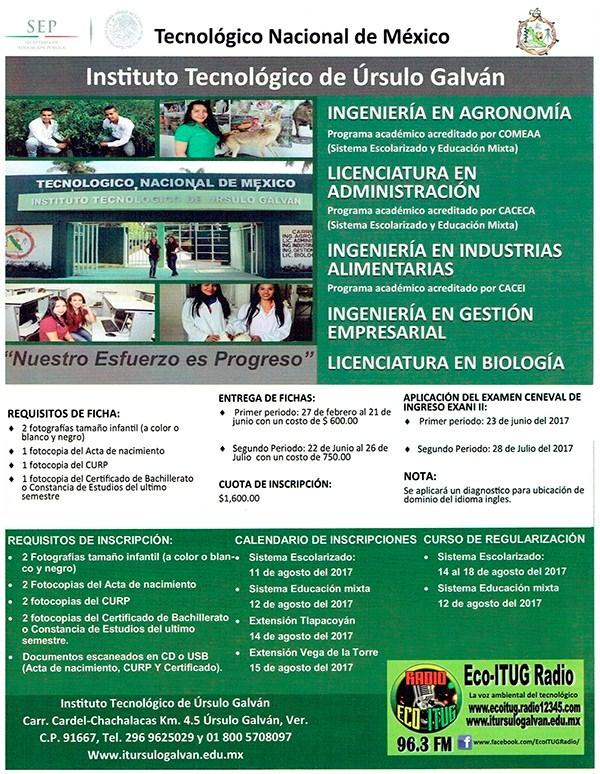 EXCELENCIA Y CALIDAD EDUCATIVA OFERTA EL ITUG...