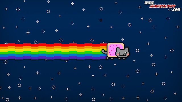 Wallpaper Memes: Nyan Cat 2 - HumorTaLouco.com