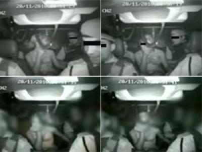 1 Policiais são filmados tendo relações sexuais com uma Mulher dentro de viatura