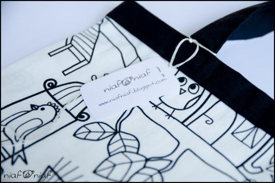 Ekologiczna torba dla Ani :)