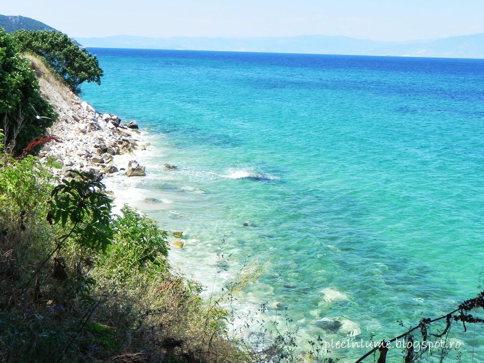 Culoarea apei din Thassos