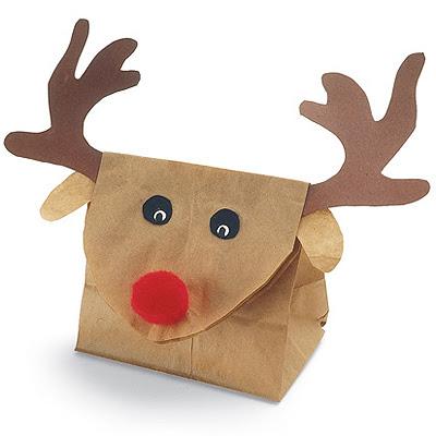 Опаковка за Коледен Подарък Еленче