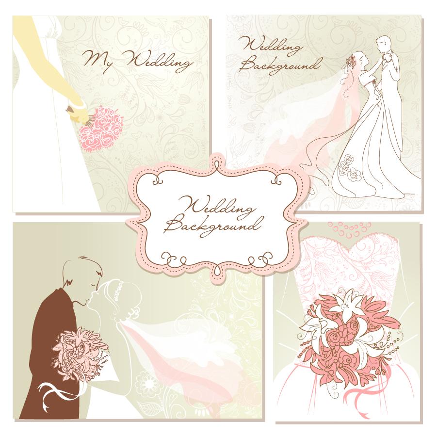 Vintage Wedding Decorative Designs
