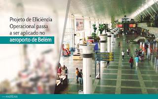 Eliseu Padilha - Projeto de Eficiência Operacional passa a ser aplicado no aeroporto de Belém