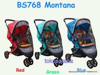 Kereta Bayi Pliko BS-768RH Montana