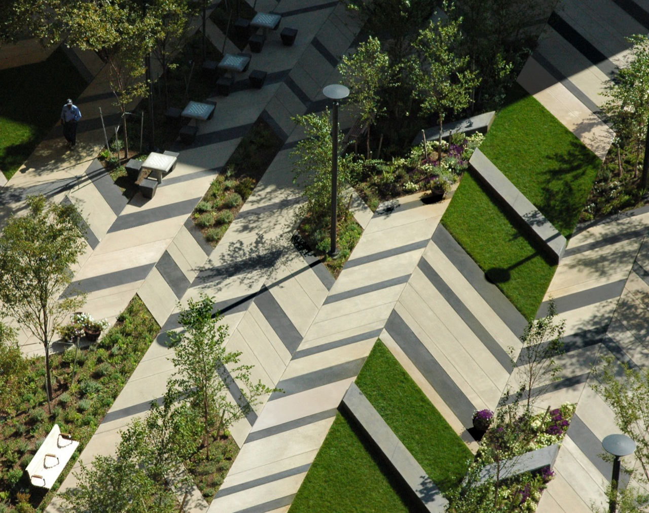 Sports news levinson plaza mission park by mikyoung kim for Park landscape design