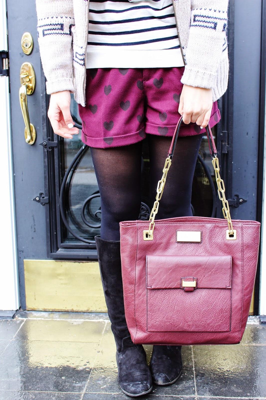 bijuleni,streetstyle,Zara,winter shorts, cardigan, winnersfabfind, stripe,fashion blogger, Calvin Klein
