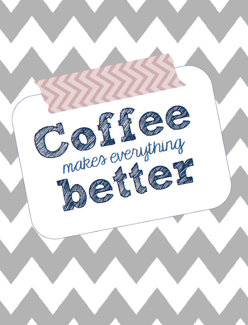 Check out this awesome coffee print that you can download in our free printables!