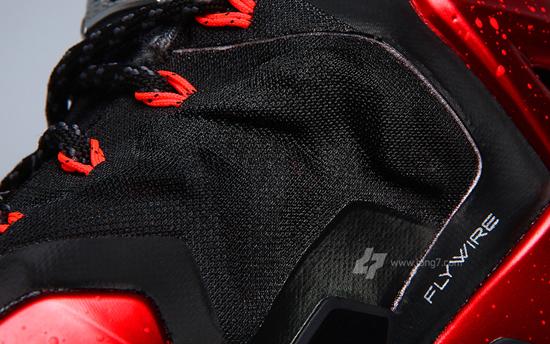 Lebron 11 Elite Univeristy Red Black White 616175 002