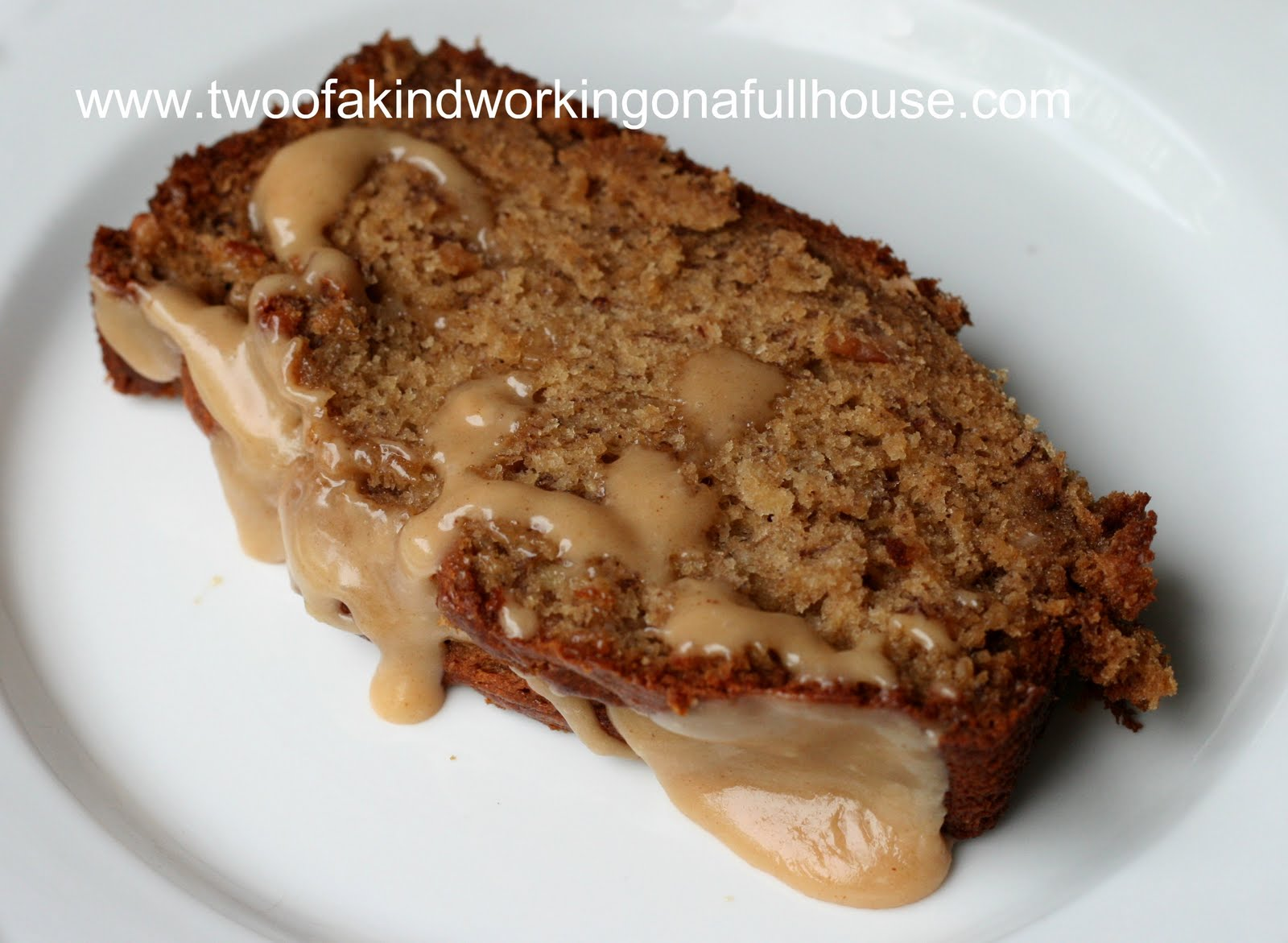 Peanut Butter Banana Bread Recipe | Two of a kind, working on a full ...