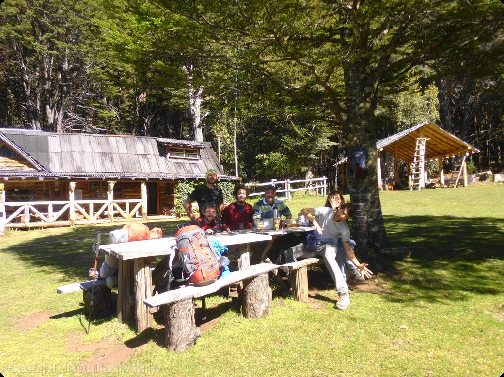 Refugio Natación, Refugios, El Bolsón