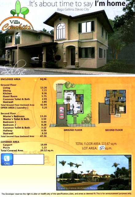 Villa Conchita, Bago Gallera, Davao City - Selene house