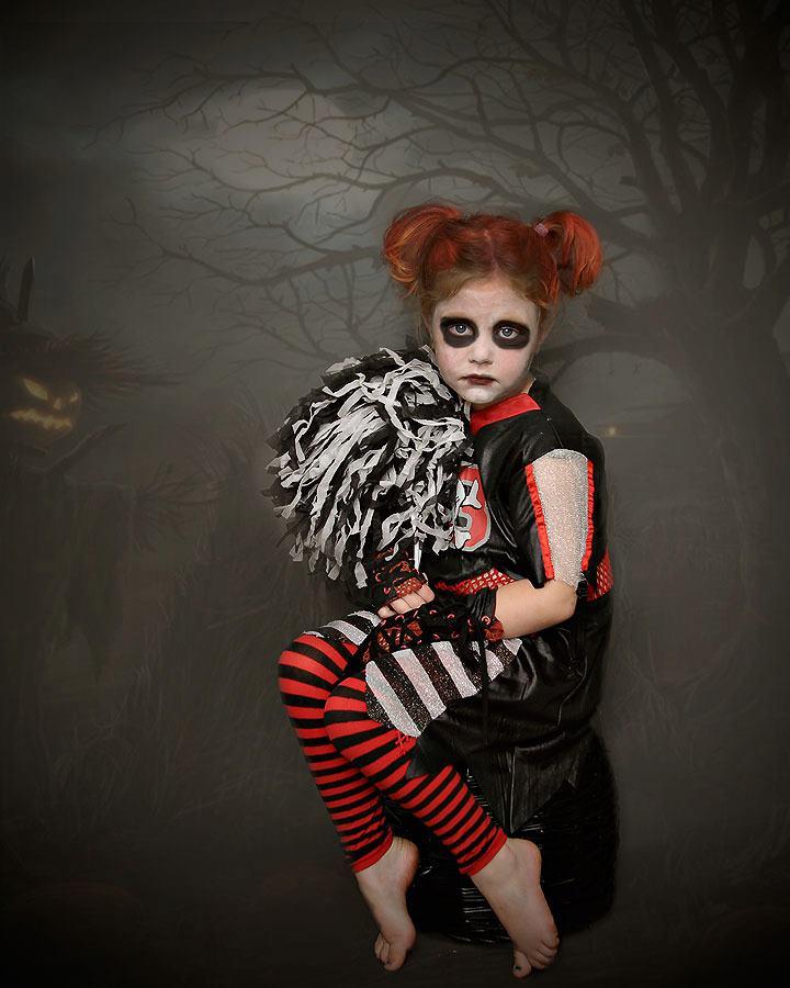 Zombie Cheerleader Makeup For Kids : www.imgarcade.com - Online Image ...