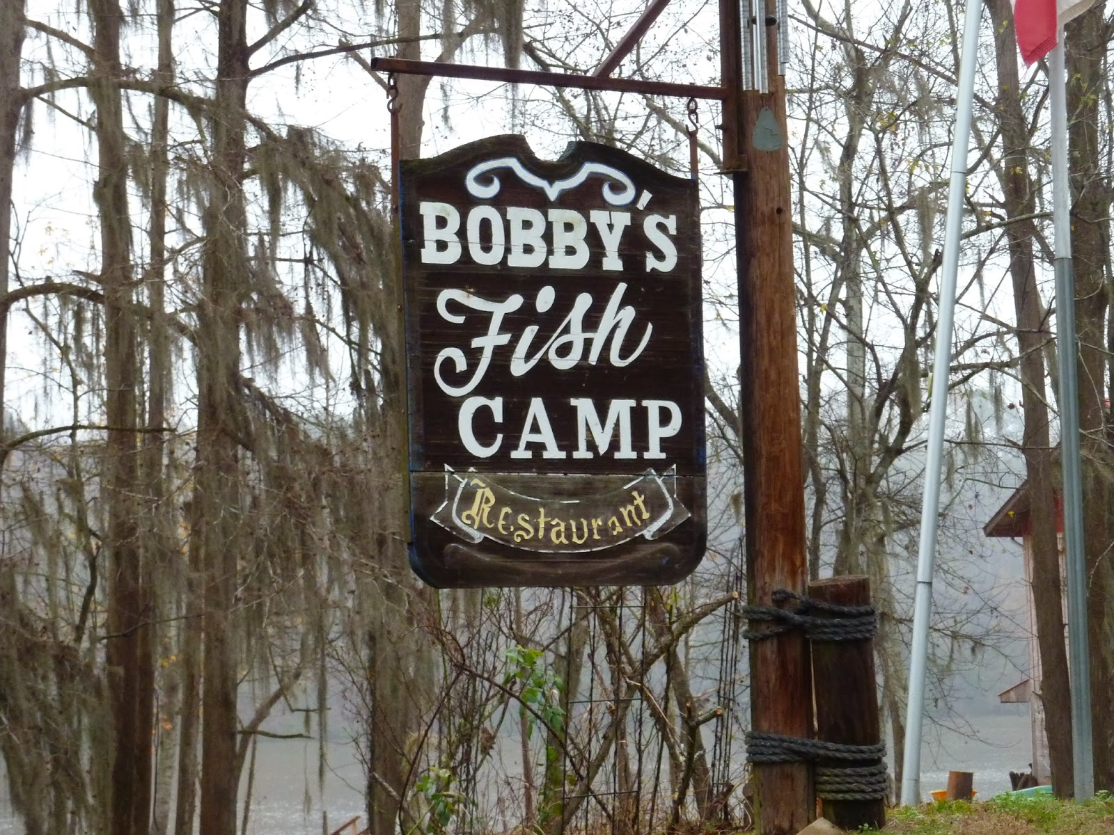 at 3 pm we motored into bobby s fish camp mm118 for tonight s dockage yeah we made it this will be a pricey night 1 50 per foot length of boat as
