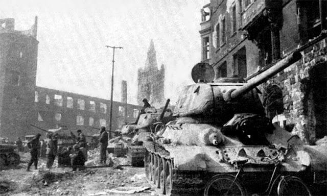 Старое военное фото 1945 война