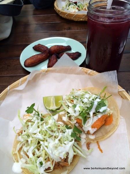 tacos at Cholita Linda in Oakland, California