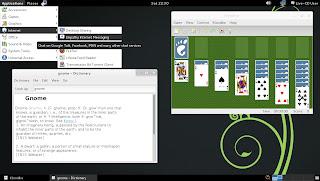 openSUSE 12.3 RC1 GNOME 3.6 Fallback Mode Classic Desktop