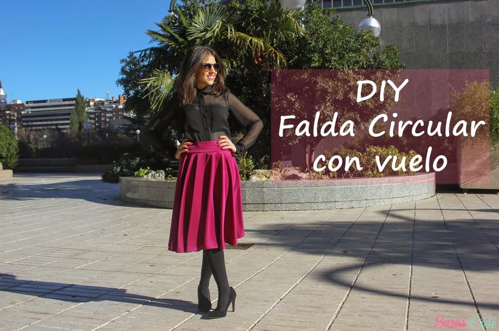 DIY Falda circular con vuelo (Parte I) ~ Sara's Code  Blog de ... cd4066963a8c