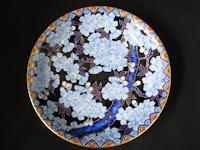 深川製磁 金襴桜 皿