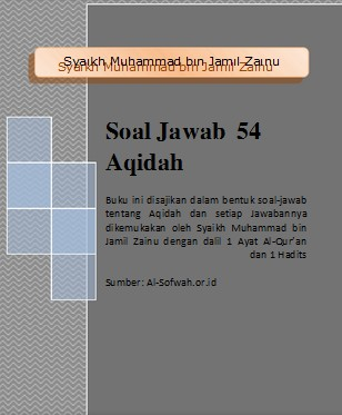 EBOOK 54 SOAL JAWAB MASALAH AKIDAH