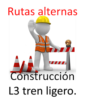 Construcción L3 tren ligero de Guadalajara