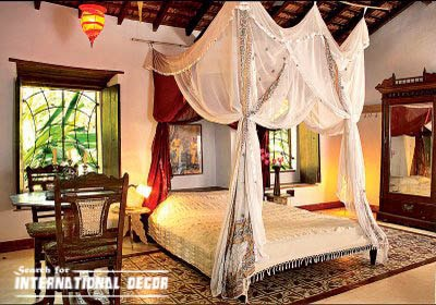 four poster bed canopy, canopy bed, romantic bedroom